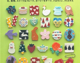 Applemints Series. Easy Clay Art 100 - Japanese craft book