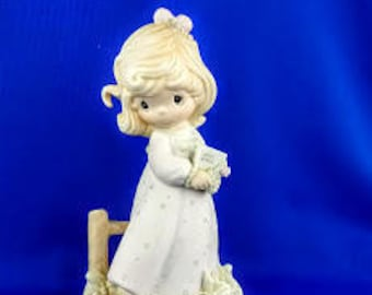 Voice of Spring Precious Moments Figurine