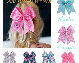 Personalized Extra Large  Hair Bows , monogrammed hair bow , personalized bow , monogrammed bow , cheer bow , initial hair bow