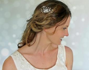 Wedding hair piece, bridal hair piece, bridal head piece, bridal hairpiece, wedding hair accessory, boho headpiece, bridal comb