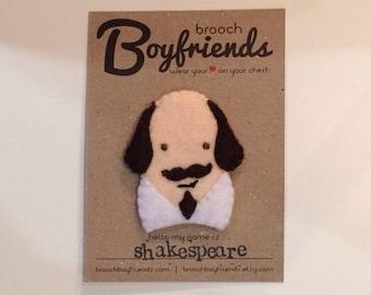 Shakespeare Brooch