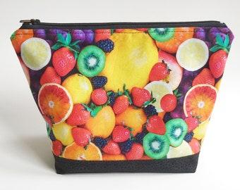 Fresh Fruit Zip  Bag, Eat the Rainbow!