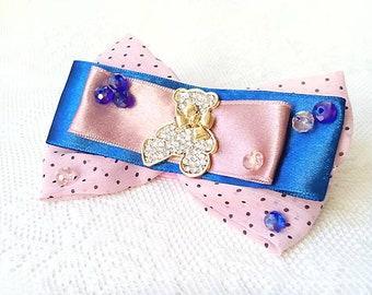 I love my teddy bear (brooch)