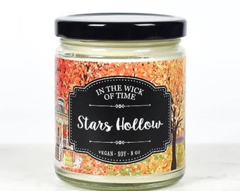 Stars Hollow   Scented Vegan Soy Candle  