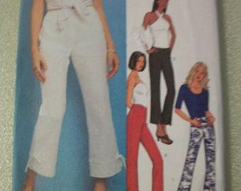 Butterick B3394 Misses/Miss Petite Size 18, 20, 22) Pants.   FAST & EASY