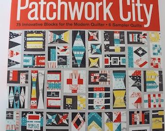 Patchwork City, by Elizabeth Hartman, Quilt book, Quilt Pattern Book, Modern Quilt Patterns