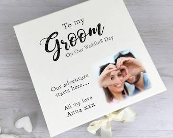Colour Printed Groom Box Wedding Gift Box Wedding Groom Gift