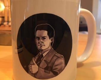 Dale Cooper Twin Peaks Mug