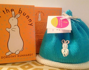 Baby Bunny Turquoise Colorful Crown