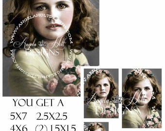 Dolly 2 Sheet Digi Photo Set