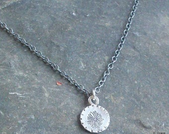 Petite Daisy Sterling Necklace