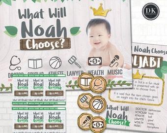 the NOAH Doljabi Kit: Korean First Birthday DOL Printable