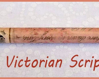 """Victorial Script Kraft-i Roller - Paper Bead Roller / Tool from the Original Collection 1/8"""" or 3/32"""" Tutorial Included"""