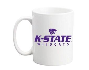 Kansas State University licensed K-State Wildcats mug