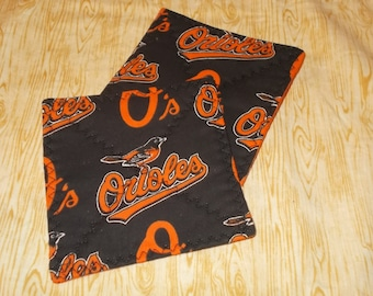 Baltimore Orioles MLB Coasters - Set of 2 or 4--Free Shipping!
