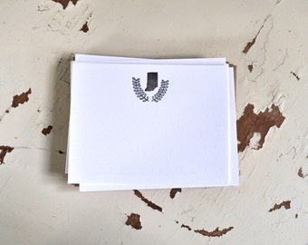 Indiana Letterpress Notecard Set