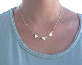 Necklace three triangles