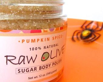Pumpkin Spice Organic Sugar Body Polish