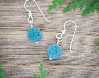 Leland Blue earrings, Michigan Jewelry, Michigan Stone jewelry