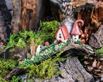 gnome home, pixie palace, fairy home