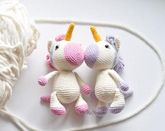 Amigurumi unicorn plush, Unicorn crochet,Unicorn amigurumi,Stuffed unicorn toy,Kawaii unicorn stuffed animal,newborn props-holiday gift