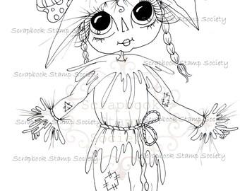 SOFORTIGER DOWNLOAD digitale Digi Stamps große Augen Großkopf Dolls Digi friends Friends von Oz IMG642 von Sherri Baldy