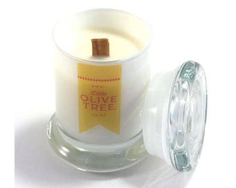 Scented Soy Candle, made in New Zealand with 100% natural soy wax