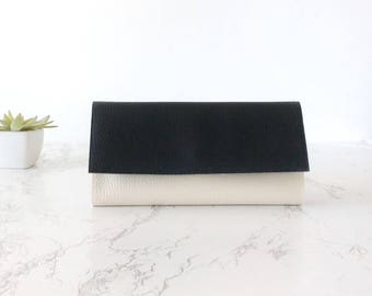 Wallet minimalist vegan, minimalist wallet personalize, black and white wallet, minimalist wallet vegan wallet iphone 7 case, wallet slim