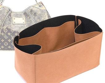 Regular Style Nubuck Leather Handbag Organizer for LV Galliera PM