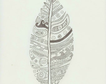 Leaf Pencil Drawing Download