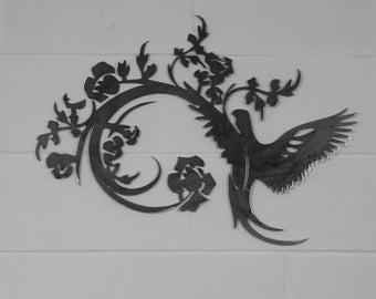 Floral Bird wall art
