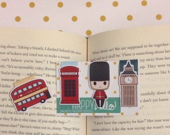Magnetic Bookmarks • London