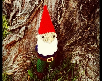 Crocheted Gnome Doll