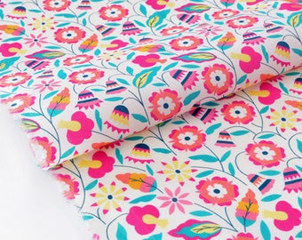 Fabric Liberty of London Tana Lawn 90x136cm season 2016 Bobo-fuchsia pink