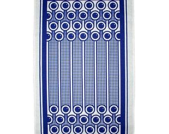 Blueberries pattern cotton tea towel