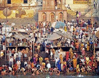 Varanasi, India: archival print signed and matted