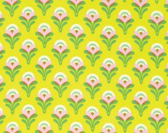 Clementine by Heather Bailey for Free Spirit - Buttercup - Lemon - 1/2 yard cotton quilt fabric 516