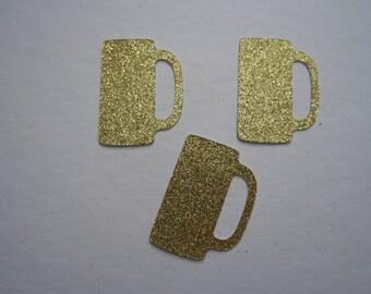 Glitter Beer Mug Confetti | Custom Made | Party Confetti | Party Table Decor | Birthday Party