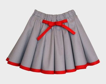 Mia Twirl Skirt pattern PDF, easy sewing pattern and tutorial