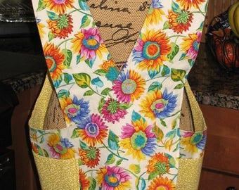 Cross Back apron -Sm/Med or L/XL