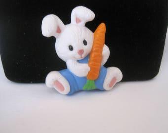 Vintage Bunny Brooch