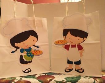 Cute Pizza Goody Bag