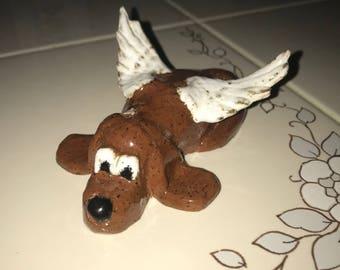 Dog Angel, Angel Dog statue, Angel, Dog Angel statue,  Dog in Heaven, Heavenly Dog, Pet Angel, Pet Memorial, Dog Memorial