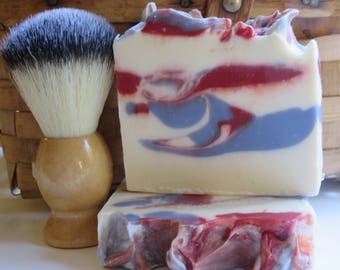 Barber Shop Soap, Mens Soap, Barber Shoppe, Manly Soap, Hand Soap, Masculine Soap, Homemade Soap, Artisan Soap, New Hampshire, Gifts For Him