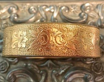 "Antique Victorian ""Portia"" Bangle Bracelet"