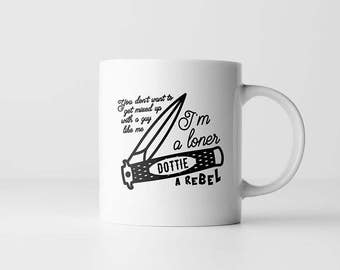Pee-Wee's Big Adventure Coffee Mug | You Don't Want to get Mixed Up With A Guy Like Me| Cult Movie Quote | Mugs With Sayings | PeeWee Herman