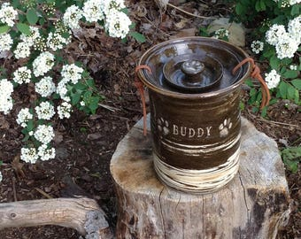 Dog Cremation Urn for Pet Up to 60 lbs Buddy Urn