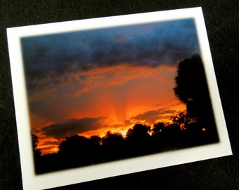 CloudCardz Stationery - 6 cards with amazing Florida skies with matching envelopes