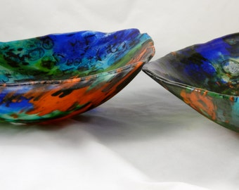 Fused Glass Boiled Sinks