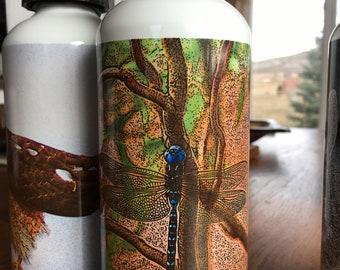 Blue Dragon Water Bottle - Aluminum - 20 Oz